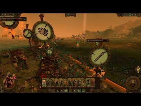 TW: Warhammer 2 Curse of Vampire Coast - (Quest For Slann Gold) |