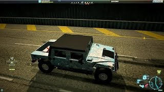need for speed world hummer h1 alpha snowflake christmas edition 15 december 2013