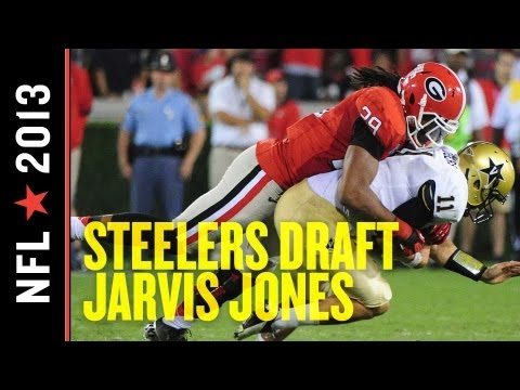 2013 NFL Draft: Pittsburgh Steelers Select Georgia OLB Jarvis Jones
