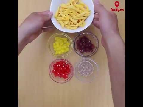 Hướng dẫn cách làm sữa chua mít đơn giản