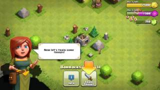 Clash of clans ep 1 (Sry no sound)