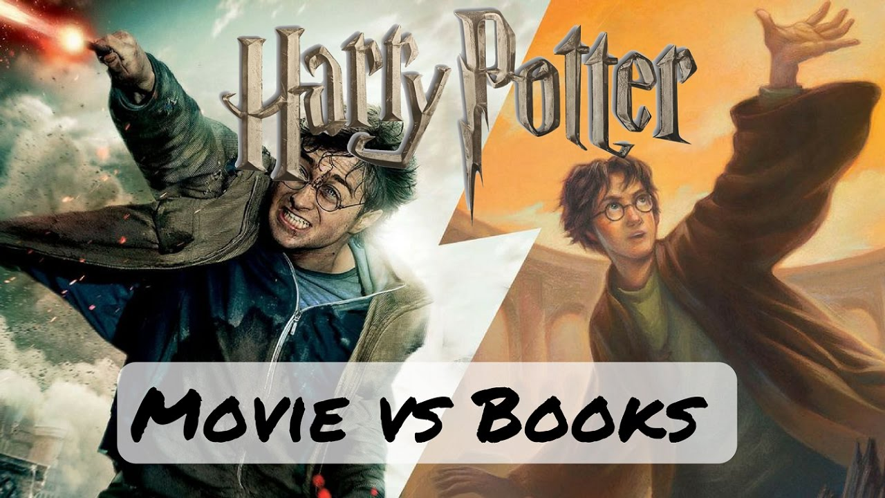 Harry Potter Book Movie : Harry potter book vs movie differences youtube