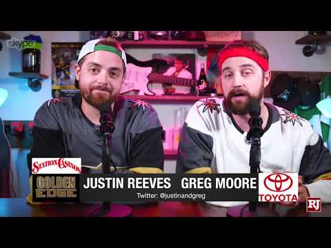 Justin & Greg chat recruiting the Vegas Golden Knights to Sa