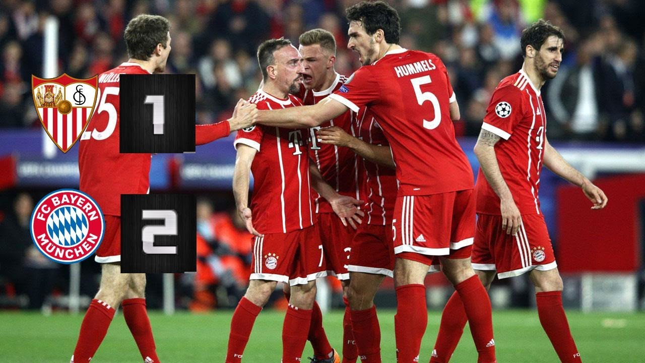Download Champions League Highlights Sevilla vs Bayern Munich April 3 2018 1-2
