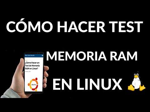 Cómo Hacer un Test de Memoria RAM en Linux