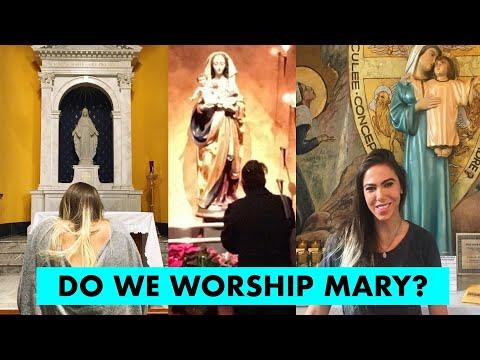10 REASONS CATHOLICS WORSHIP MARY: DEBUNKED!!