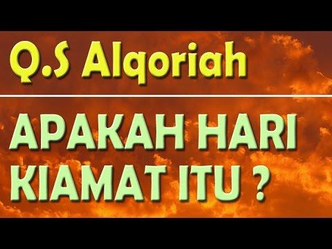 Apakah Hari Kiamat Itu Surat Al Qoriah Membaca Al Quran
