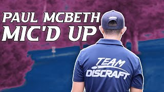 Mic'd Up Practice Round with Paul McBeth