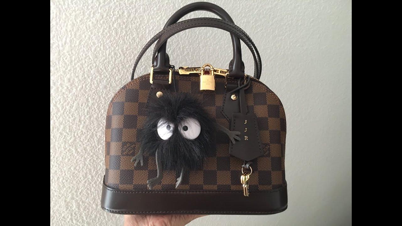 ae8c2fcef9b Unboxing my Louis Vuitton Alma BB Damier Ebene