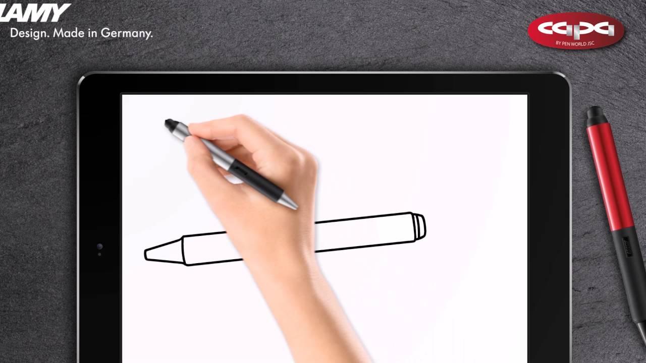 Bút Stylus 2 trong 1 Lamy Screen độc đáo