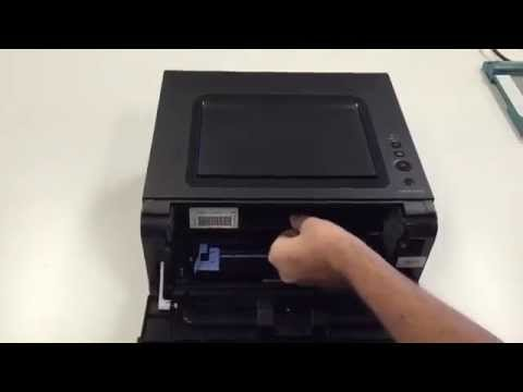 How to Replace the Toner Cartridge in a Dell B1260 Laser Printer
