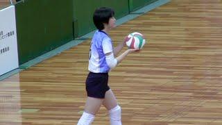 女子中学生バレーボール全国大会・決勝 長崎 VS 福岡【第1セット】ハイキュー JOC | Volleyball junior high school Haikyuu Japan