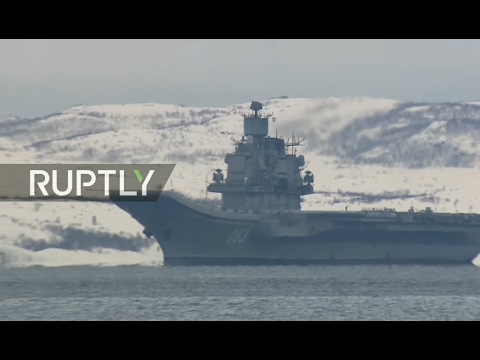 LIVE: Admiral Kuznetsov arrives in Severomorsk from Syria