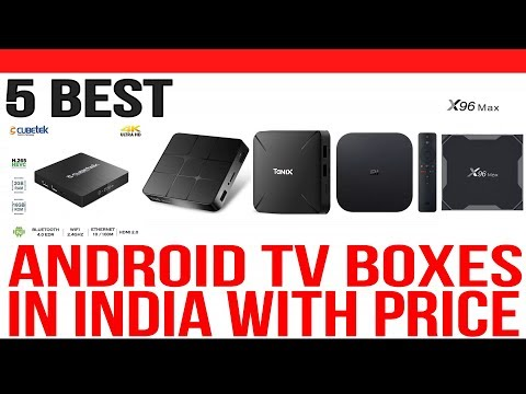 Top 5 Best Android TV Boxes In India With Price