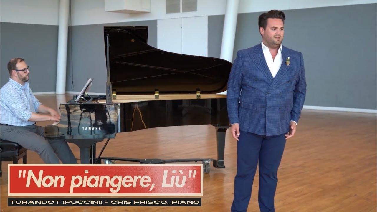 """""""Non piangere, Liù"""" from Puccini's Turandot - Dane Suarez, tenor"""