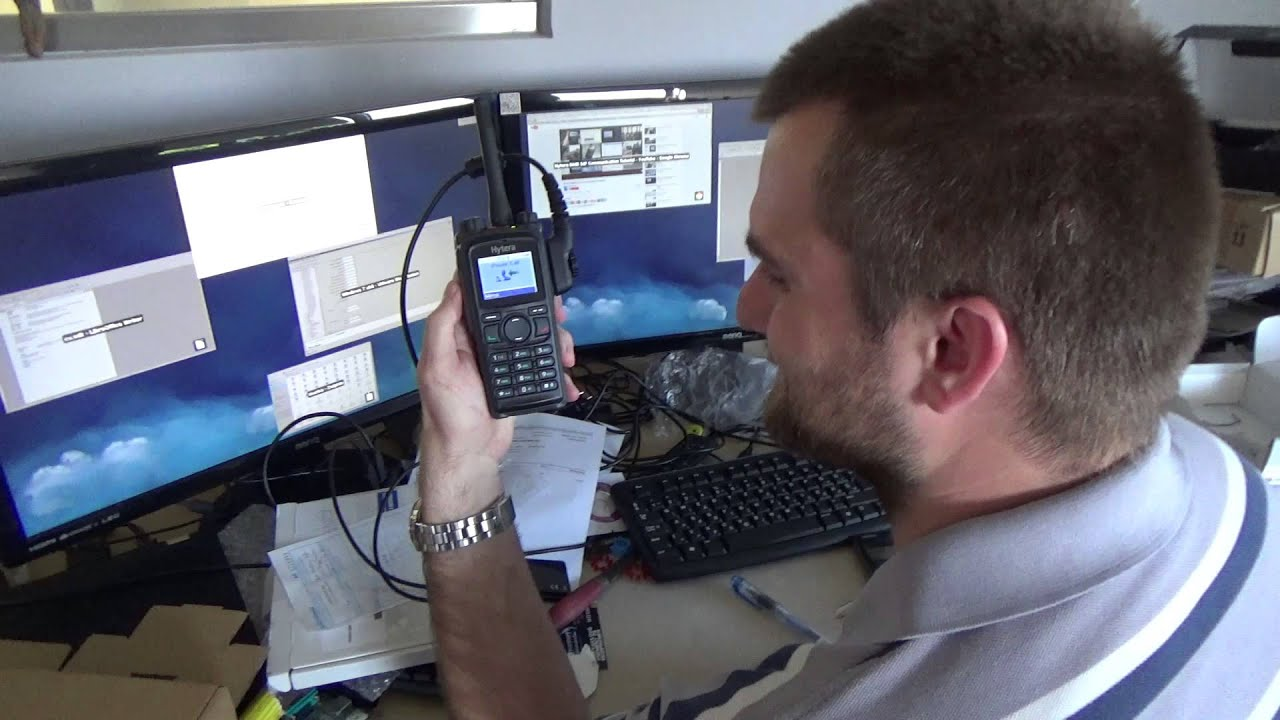 Hytera RD625 DMR repeater tests, VoIP setup at dreamport