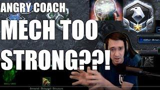 ANGRY COACH #33 - Help Me Beat Mech (Plat Zerg)