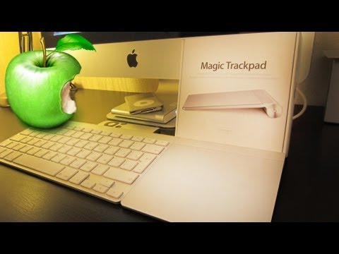Я купил 🍏 Apple Magic Trackpad