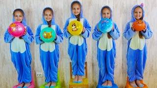 Five Little Monkeys + More Nursery Rhymes & Kids Songs | Dora and Alisa