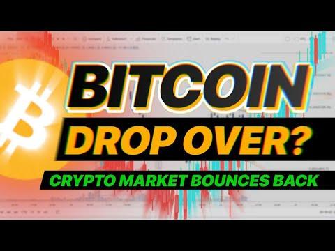 BITCOIN DROP OVER? CRYPTO MARKET BOUNCES BACK