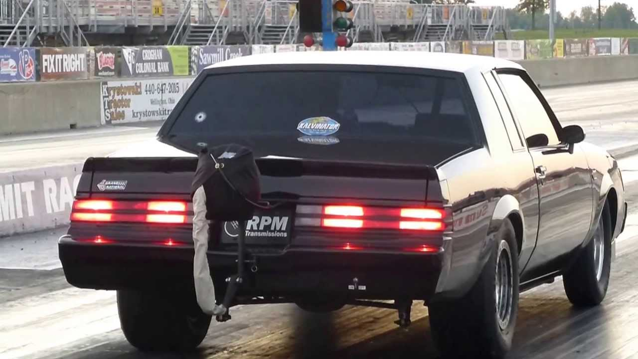 Turbo Buick Grand National Makes 8.74 pass drag racing ...