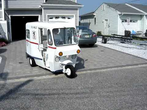 1963 westcoaster mailster vintage 3 wheel mail truck youtube. Black Bedroom Furniture Sets. Home Design Ideas