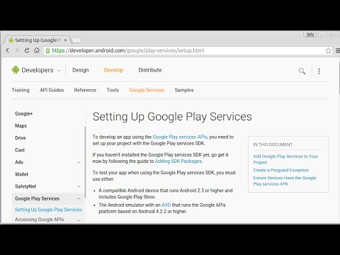 Setting Up Google Play Services On Eclipse-Android SDK