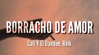 Borracho De Amor - Cali Y El Dandee, Reik (LETRA)
