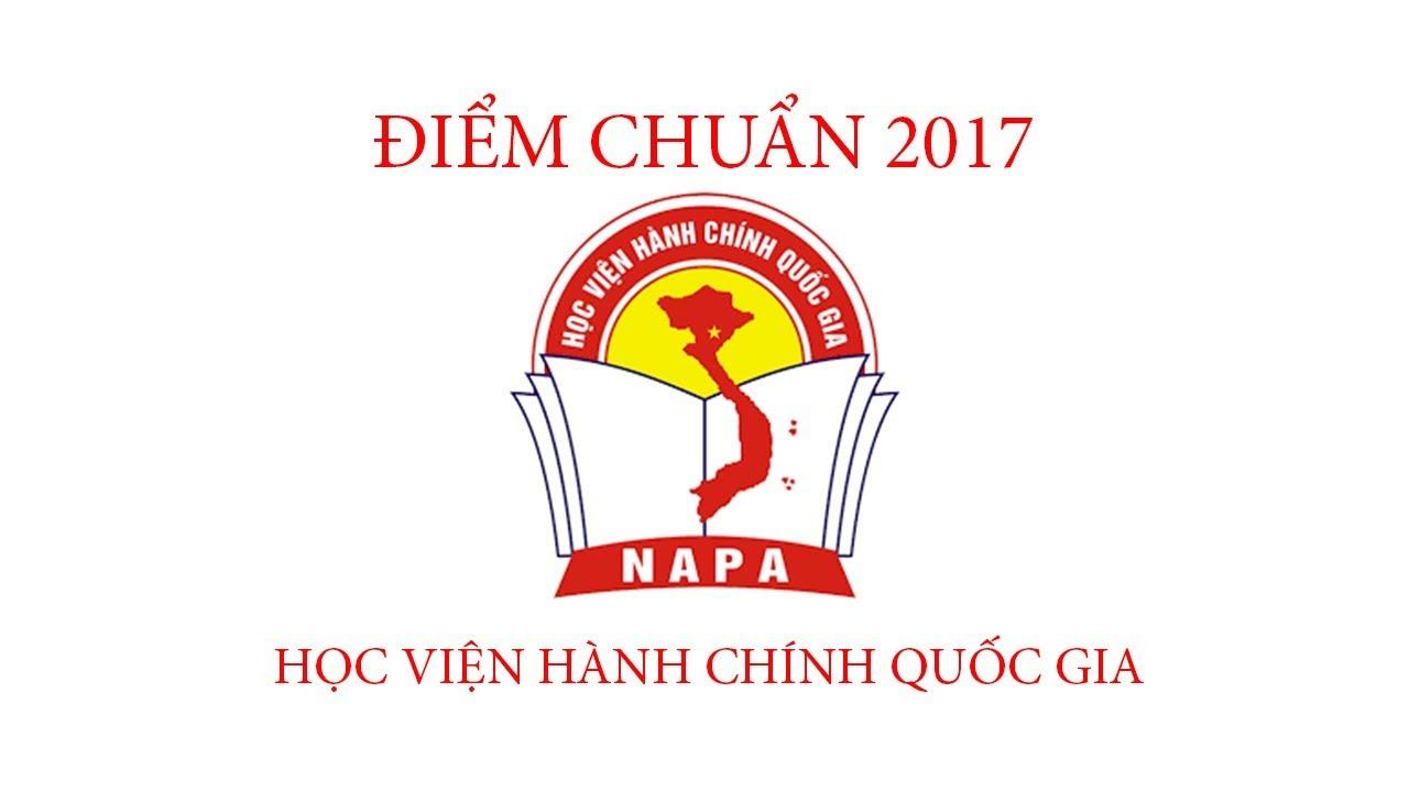 Điểm chuẩn 2017 Học viện tài chính Quốc Gia