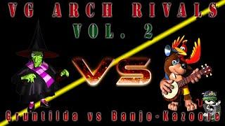 VG Arch Rivals 2 - Gruntilda vs Banjo-Kazooie [Intro Theme, Gruntilda