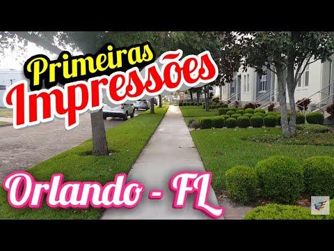 Orlando Florida Minhas Primeiras Impressões - Vídeo Rápido
