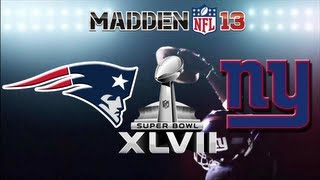 Giants Connected Career Superbowl: New England Patriots vs. New York Giants