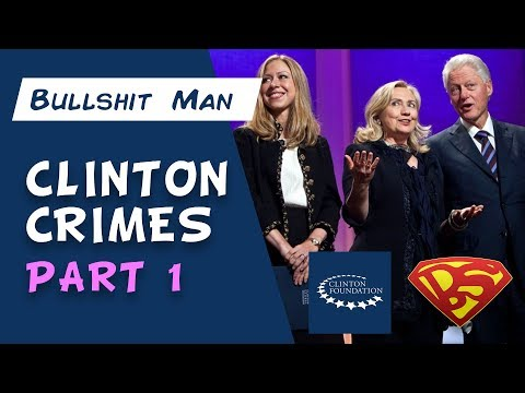 Clinton Crimes - Part 1: The HUGE Foundation From Little Rock