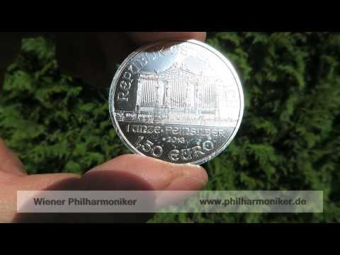 Silbermünze Wiener Philharmoniker