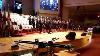 """""""HARVEST ARMY NYC CHORALE"""" Ministers @ KOREAN Mega Church in New York , 8 25 19"""
