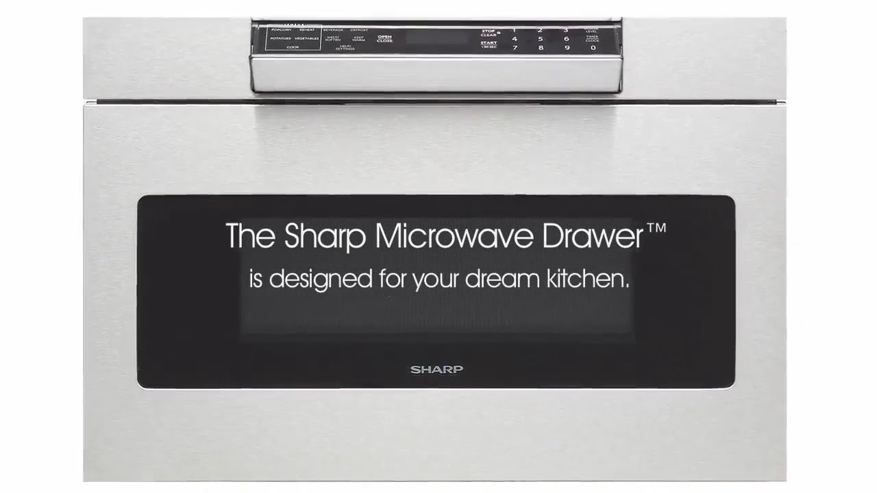sharp microwavedrawer drawer style drawers ovens forhome microwave microwaves homeappliances video