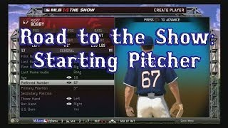 """MLB 14 The Show :: RTTS Starting Pitcher ep 09 """"NEW PITCH!"""""""