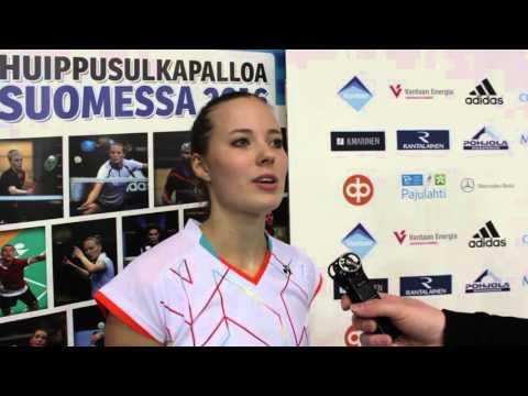 SM 2016 - Haastattelussa Nanna Vainio