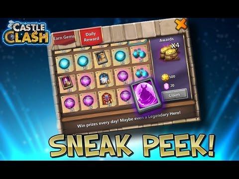 Castle Clash New Daily Reward Update 1.2.65