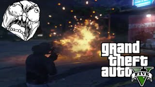 GTA 5 Trolling - Gamers Raging When I Kill Them