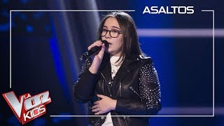 Ana Escudero canta 'Beautiful' | Asaltos | La Voz Kids Antena 3 2019