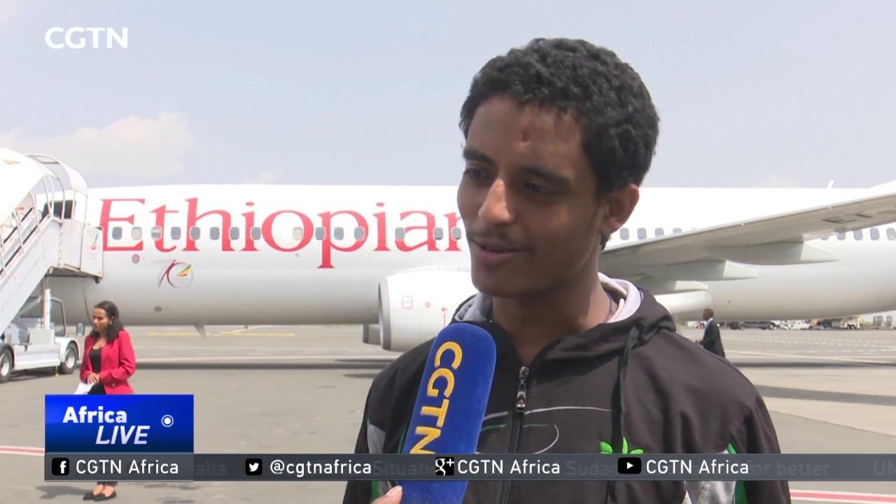 CGTN: 32 Ethiopian Prisoners in Egypt Returned Back Home - በግብጽ በህገወጥ ታስረው የነበሩ 32 ኢትዮጵያውያን ለሃገራቸው በ