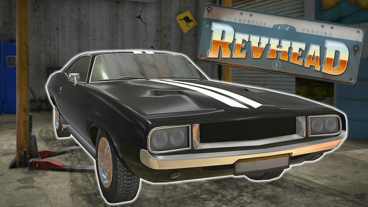 MUSCLE CAR RESTORATION + EASY MONEY! - Revhead Gameplay Highlights ...