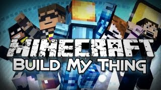 Minecraft: Build My Thing - Draw My Thing in Minecraft! (Mini-game)