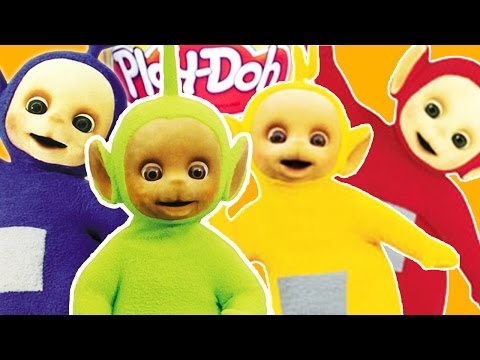 How to Make ALL Play Doh Teletubbies Tinky Winky Dipsy Laa Laa and Po | Teletubbies Toys