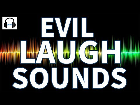 No copyright FREE evil laugh sound effect