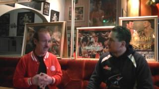 Enzo Calzaghe father and coach to world champion boxer Joe Calzaghe Interviewed by Gavin Townsend