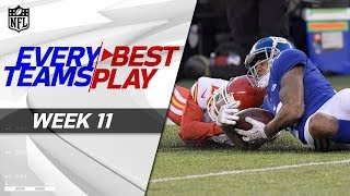 Every Team's Best Play from Week 11   NFL Highlights 2017 Video
