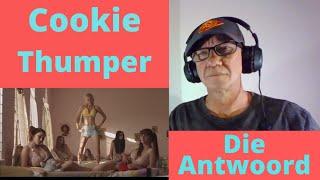Die Antwoord-Cookie Thumper (Reaction)