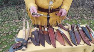 Mountain Man Bushcraft..... Ultimate Cutting Edge; My knife collection.